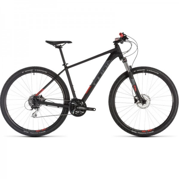 "ΠΟΔΗΛΑΤΟ CUBE AIM RACE 29"" 2019 black´n´red 201400"