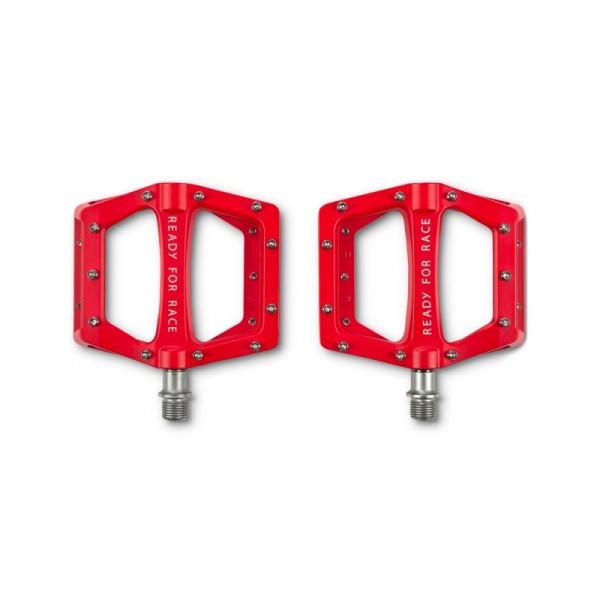 Πετάλια Ποδηλάτου RFR Flat CMPT RED 14142